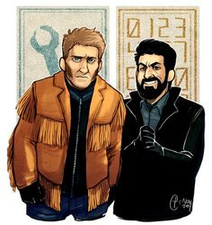 Mr Wrench and Mr Numbers season one of FX's Fargo