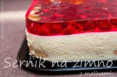 Jello Cake, Polish Recipes, Food Cakes, Fodmap, Cheddar, Vanilla Cake, Cake Recipes, Cheesecake, Cooking Recipes