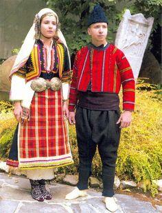 Bulgaria: Rhodope Folk Costume.