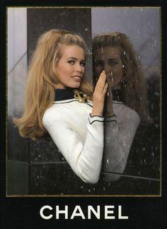 Brigitte Bardot ad for Chanel #vintage