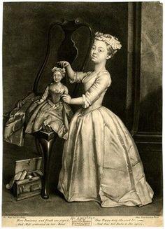 Horace Walpole -His daughter- 1727-1750. British Museum