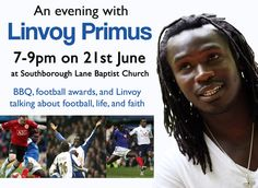 Linvoy Primus - a real role model for Portsmouth youth and an ambassador for football.