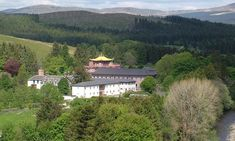 An unusual camping option, Kagyu Samye Ling which is a Buddhist retreat in Scotland. All food is vegetarian. There are conditions ( which rules it out for my fella he he) These include no alcohol.