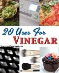 I have a whole book on vinegar, but this is nice.  It has a few of my favorites.