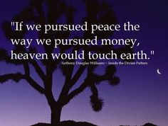 Let's focus on peace :-)