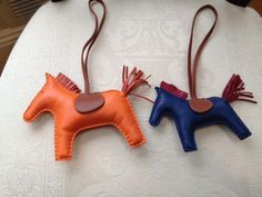 Ode to leather key charms - animals da5646603384c