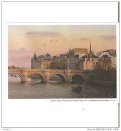 """CARTE """"THIERRY DUVAL - AQUARELLISTE"""" Ancien AUSTRALIEN - Delcampe.fr"""