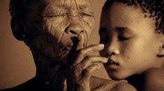 Africa   People.  San-Bosquimanos