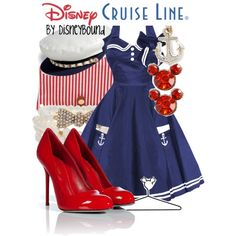 Disney Cruise Line, created by lalakay on Polyvore