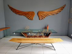 Leonardo Bueno Art and Design Leonardo, Tools, Furniture, Home Decor, Advertising, Wings, Arquitetura, Artists, Instruments