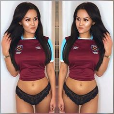 English Football Teams, West Ham United Fc, New West, Dream Team, Special Guest, Workout Programs, Instagram Hashtag, Adidas Jacket, Bra