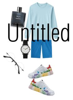 """""""untitled 2"""" by rindysriantika on Polyvore featuring Baldessarini, Lands' End, Skagen, Chanel, men's fashion and menswear"""