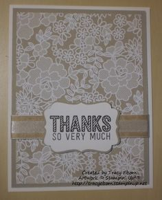 Card design using Something Borrowed DSP from the Stampin' Up! 2015 Occasions Catalog, and Simply Wonderful stamp set Scrapbooking, Embossed Cards, Stamping Up Cards, Thanksgiving Cards, Paper Cards, Creative Cards, Greeting Cards Handmade, Homemade Cards, Making Ideas