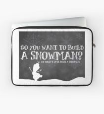 Do You Want to Build a Snowman? Laptop Sleeve