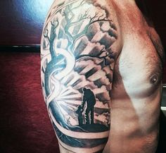 Top 50 Best Father Son Tattoos For Men - Manly Design Ideas Cool Father And Son Themed Tattoo For Men Baby Tattoo For Dads, Rip Tattoos For Dad, Father Tattoos, Tattoos With Kids Names, Tattoo For Son, Family Tattoos, Tattoo Baby, Trendy Tattoos, Cool Tattoos