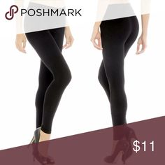 Black Seamless Legging Plus and Regular sizes M&B Womens Black Seamless Legging Layer Nylon Spandex Blend Pants Tight If you have an obsessing with comfort, look no further.  Get these seamless leggings to wear by themselves, or under a long shirt or dress.  These can also be used as a layering piece for warmth! These are a snug fit one size fits all, however, one size fits most, and will fit each person differently.  Seller assumes no responsibility if they do not fit M&B Pants Leggings