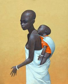 Mother and Child 1 by Pete Sanders