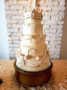 Quince Custom Birthday Cake Custom Birthday Cakes, Custom Cakes, Quince Cakes, Quinceanera Cakes, Wedding Cake, Desserts, Food, Personalized Cakes, Pie Wedding Cake
