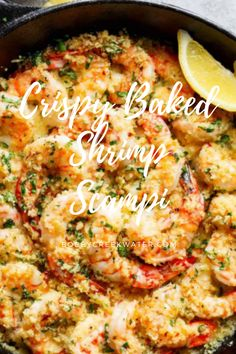 healthy shrimp recipes, shrimp meals, shrimp recipes healthy, shrimp recipes easy, shrimp recipes for dinner, how to make shrimp, shrimp salad recipes, baking shrimp, baked coconut shrimp, shrimp pasta recipes, shrimp soup, shrimp and scallop recipes, garlic shrimp, bake shrimp and asparagus, shrimp and sausage recipes, shrimp appetizers, shrimp salad, fried shrimp, shrimp breading, panko shrimp baked, cajun shrimp, raw shrimp recipes, shrimp recipers, shrimp whole30, whole30 shrimp Shrimp Bake, Shrimp Meals, Baked Shrimp Scampi, Shrimp Salad Recipes, Shrimp Soup, Shrimp Recipes For Dinner, Shrimp Appetizers, Shrimp And Asparagus, Shrimp Recipes Easy