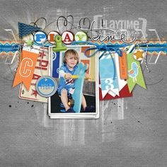 from Carolynn at DesignerDigitals.com #scrapbook #page #layout doesn't have to be digital!