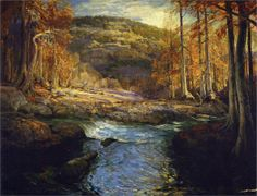Robert Julian Onderdonk -   Forest Stream (Headwaters of the Guadalupe)