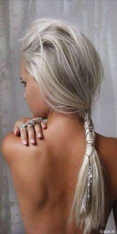 zoom sur la coloration tendance du moment le sand hair alors prte - Coloration Blond Perle