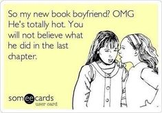 So my new book boyfriend is so hot...
