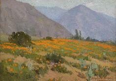 Poppies, Pasadena, California, Benjamin Chambers Brown