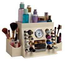Top 10 Best Gifts For Women Under $30 {Gift Guide} - Sarah Titus. I want the make-up organizer and the canisters.