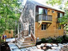Wellfleet Vacation Rental home in Cape Cod MA 02667, 10 min walk to Dyer Pond - 5 min drive to Newcomb | ID 22169