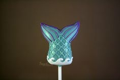 Mermaid Tail Cake Pop Process