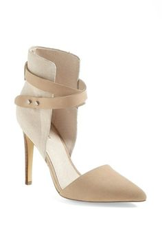 Joe's 'Laney' Pump available at #Nordstrom. Comes in black, black/white, light grey and nude