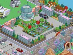 How do I buy more of those Globex buildings? Springfield Tapped Out, The Simpsons Game, Galaxy Wallpaper, The Secret, Design Ideas, Space, Instagram, Game, Ideas