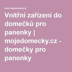 Vnitřní zařízení do domečků pro panenky   mojedomecky.cz - domečky pro panenky