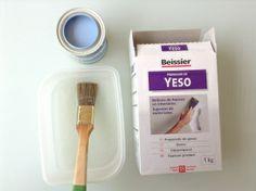 Hacer chalky paint casero http://mifukublog.wordpress.com/2014/06/17/como-hacer-chalkpaint-casero/