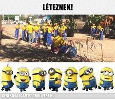 Minions in real life Clean Funny Memes, Funny Shit, Hilarious, Funny Stuff, Funny Things, Memes Humor, Jokes, Minion Humour, Funny Minion