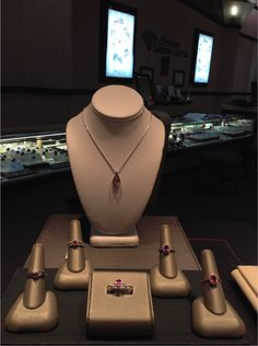 Don't forget – October is National Breast Cancer Awareness Month! Pink jewelry can be a meaningful gift or show of support – like these pink sapphires!