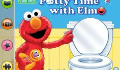 The new Sesame Street app where Elmo teaches your toddler putting the pee in potty.