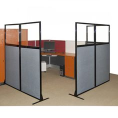 office screens dividers. our work station screens offer quick and easy office privacy create cubicles or simply section dividers