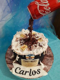 Caramel Apples, Coca Cola, Angel, Cupcakes, Amor, Cake Birthday, Pastries, Sweet Treats, Recipes