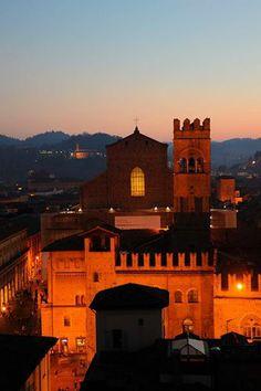 Bologna,Italy,  dal campanile di San Pietro, foto di Arrigo Mazzoni