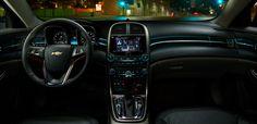 Interior view of the Chevy Malibu LTZ  @Chevrolet #MalibuStyle