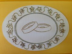 Photo: Paper Embroidery, Embroidery Ideas, Wedding Paper, String Art, Card Making, Anniversary, Ova, Album, Piercing