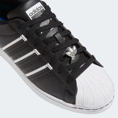 adidas Superstar Shoes - Black   adidas US Adidas Superstar Shoes Black, Black Adidas, Superstars Shoes, Black Shoes, Adidas Sneakers, Mens Fashion, Classic, Style, Black Loafers