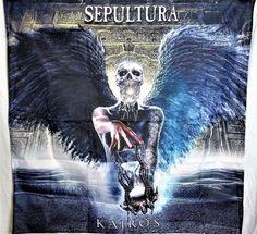 SEPULTURA Kairos HUGE 4X4 banner poster tapestry cd album | eBay