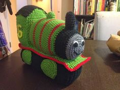 Free Crochet Amigurumi Pattern - Percy Train Pattern