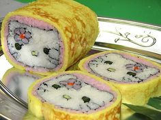 Make Hello Kitty part of a delicious balanced diet. #recipe #eating #food