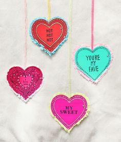 valentine oversized lockets / designlovefest