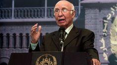 nice कश्मीर के भविष्य पर फैसला 'भारतीय विदेशमंत्री नहीं, कश्मीरी करेंगे' : सरताज अज़ीज़