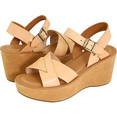 The Kork-Ease Platform Sandal was the quintessential 70's shoe. It is still made in the same comfortable wedge style with hand-crafted quality.
